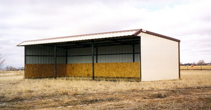 tote  shed loafing sheds
